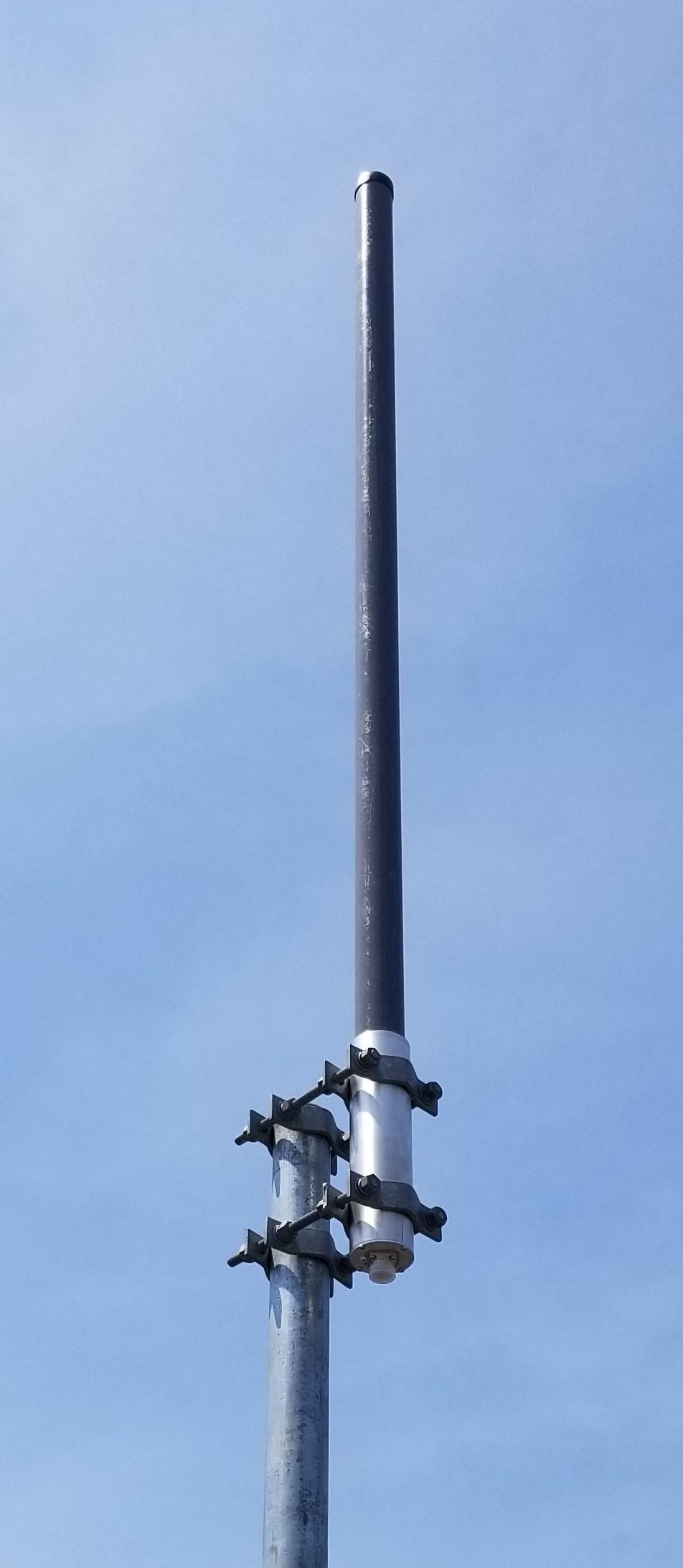 740-870MHz V-POL OMNI ANTENNA, 7.2dBd